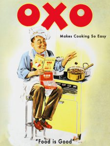 Oxo Vintage Advert. Wall Art for Kitchens