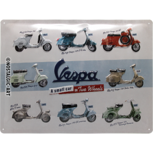 Vespa Scooter Garage Sign
