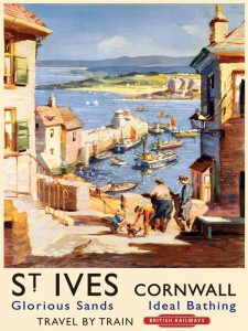St Ives Railway Sign