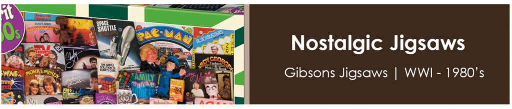 Gibson Jigsaws at Sweet and Nostalgic