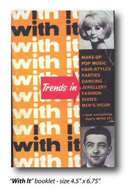 1963 'With it' Magazine- Replica Booklet