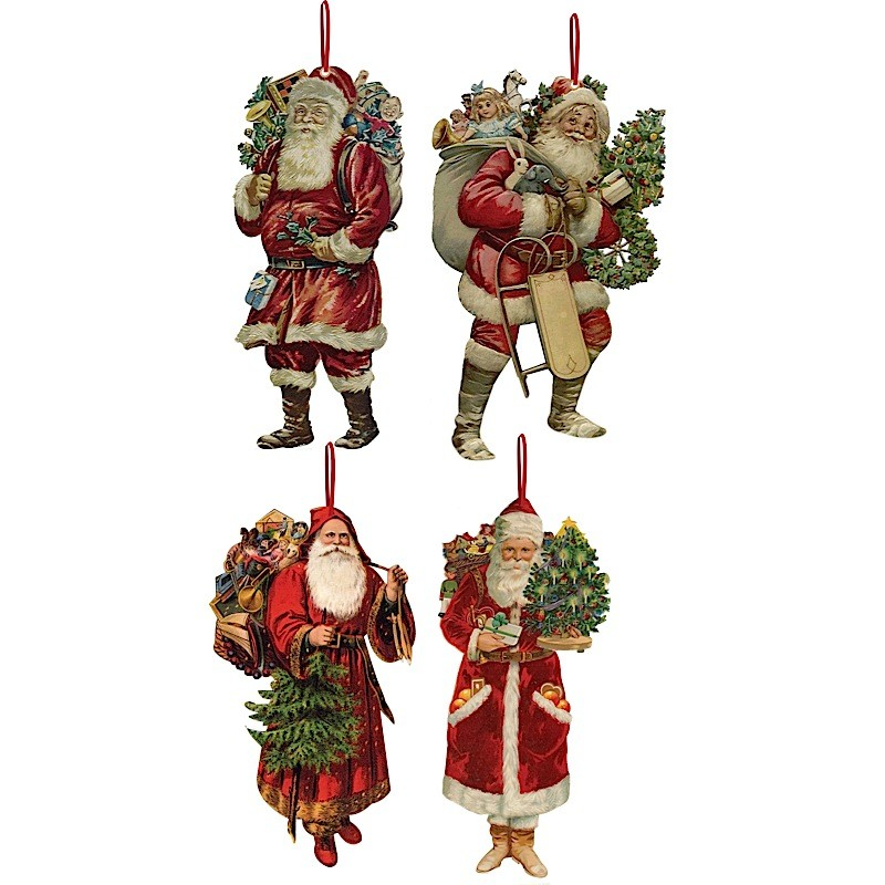 Victorian christmas tree decorations 8 for Home christmas decorations uk