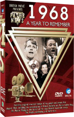 1968 - Pathe News - A Year to Remember