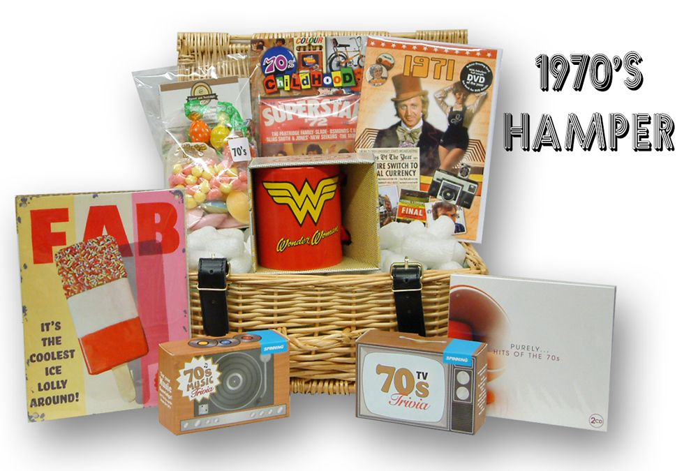 1970s Retro Gift Hamper
