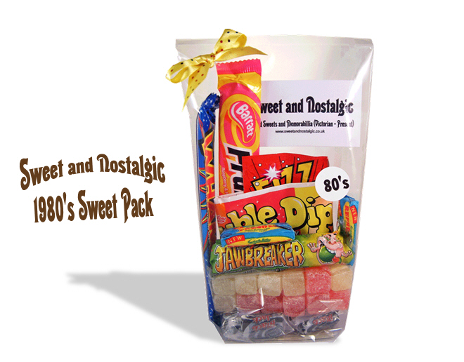 1980's Retro Sweets Pack | 30th Birthday Gift Idea | Corporate Gift Ideas