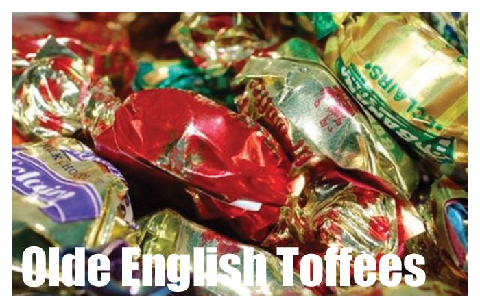 Assorted Olde English Toffees