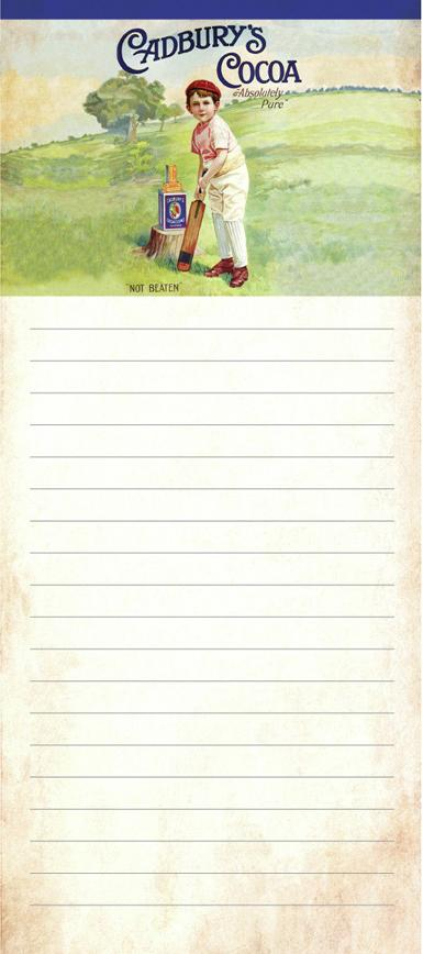 Cadbury's Boy Magnetic Memopad