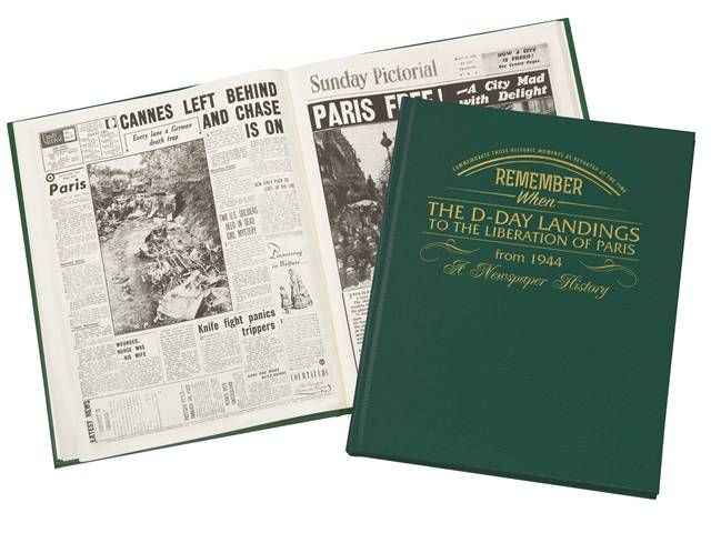 D-Day Landings Newspaper Book