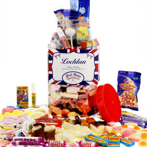 Great British Traditional Sweetie Jar (Large)