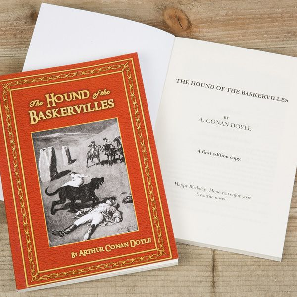 Hound of the Baskervilles Personalised Novel