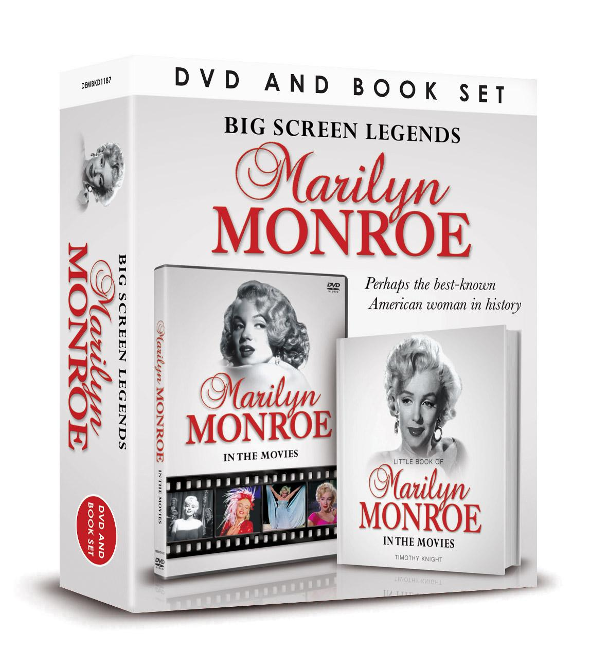 Marilyn Monroe DVD and Book Set