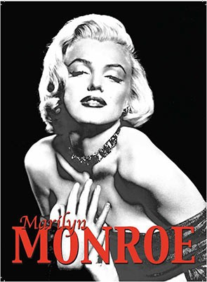Marilyn Monroe - Metal Wall Sign (2 sizes)