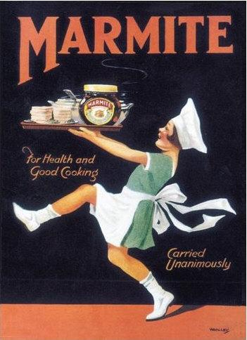 Marmite Metal Wall Sign (3 sizes)