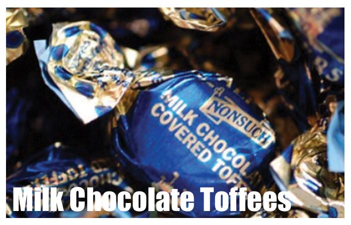 Milk Chocolate Toffees