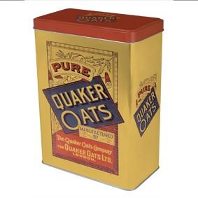Quaker Oats Vintage Storage Tin