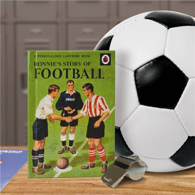 Story of Football Personalised Ladybird Book