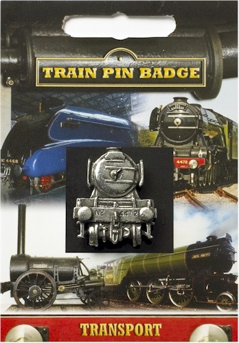 The Flying Scotsman Pin Badge