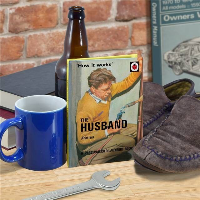The Husband - How it Works Personalised Ladybird Book