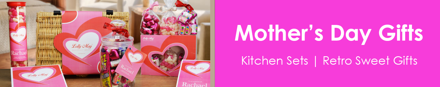 Mother's Day Gifts 2018. Mothering Sunday is 11th March this year. Treat your Mum to a beautiful Vintage Gift from Sweet and Nostalgic