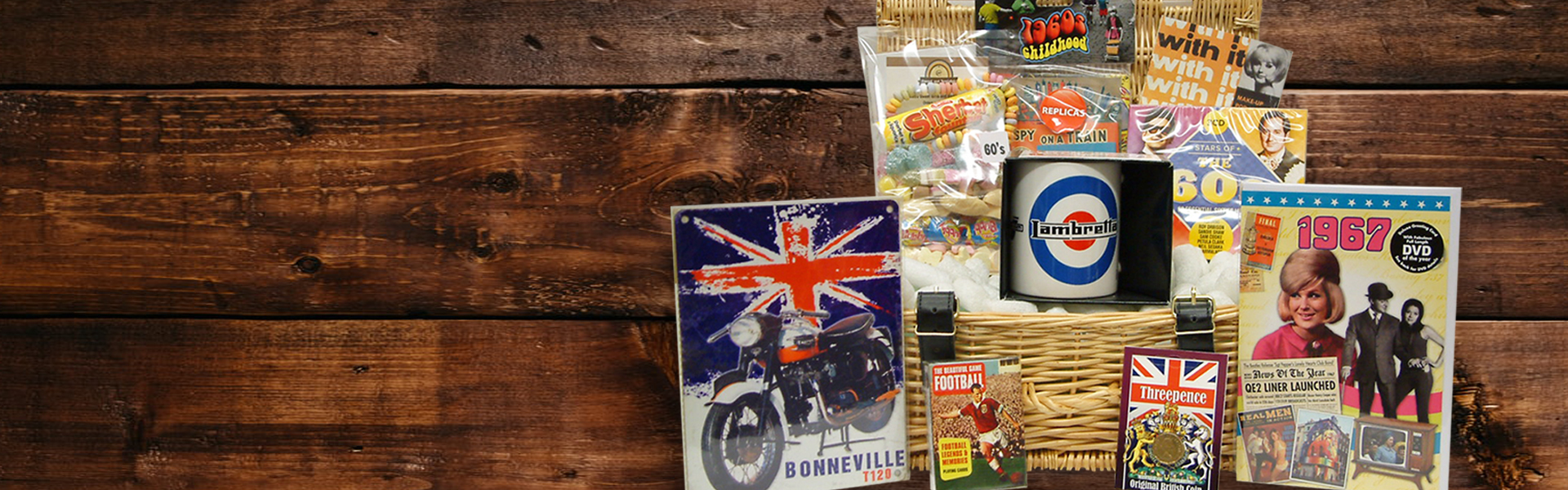 Retro Gift Hampers from Sweet and Nostalgic